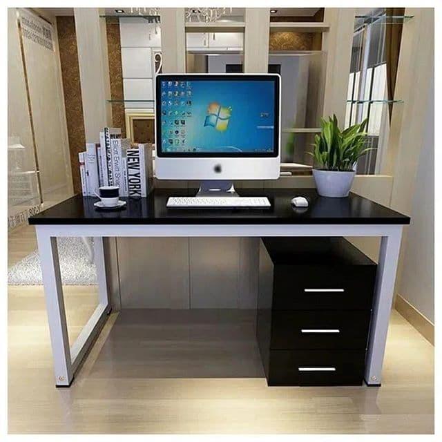 Jual Meja Kerja 120x60x70 Meja Belajar Meja Kantor Hollow 3x3 Kota Tangerang Selatan Custom Room Decors Tokopedia