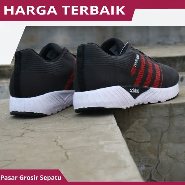 Jual Sepatu Kets Sneakers Adidas Neo Zoom Running Olahraga Pria Cowo ... 90bd097262