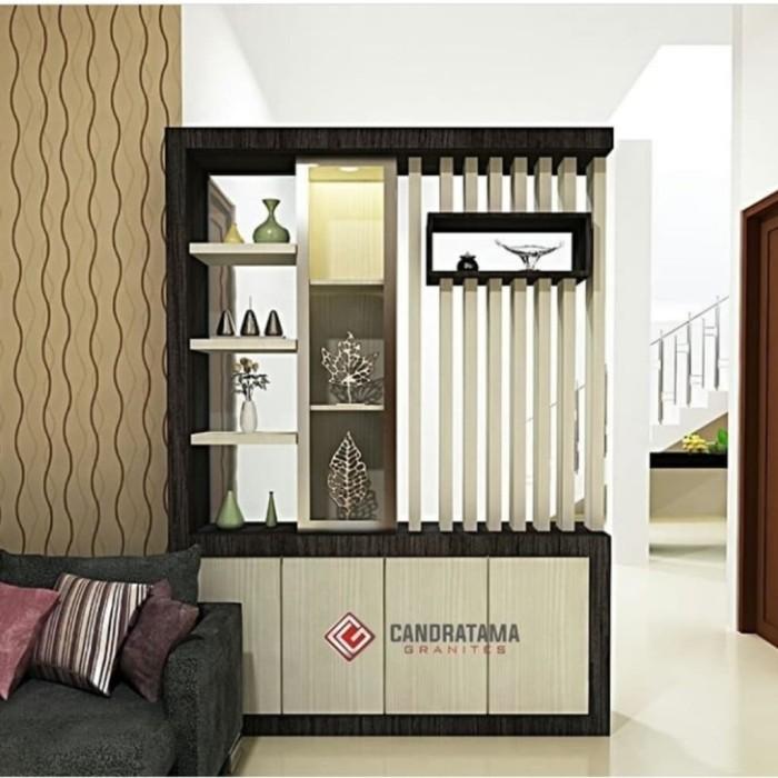 Jual Lemari Partisi Sekat Ruangan Minimalis Kota Bogor April Furniture Tokopedia