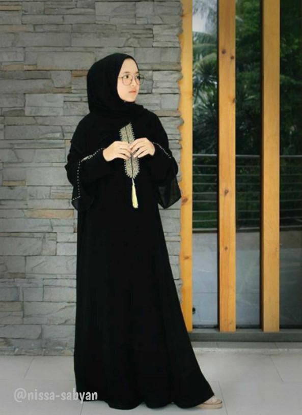 Jual Terbaru Gamis Abaya Dubai Heidy Nissa Sabyan Abaya Dress
