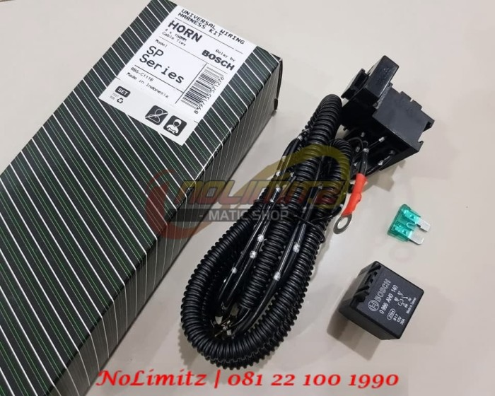Jual Kabel Set Sikring Relay Bosch Compact Universal Wiring System on