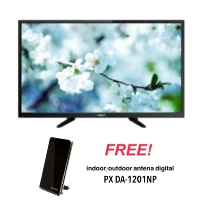 SANYO AQUA 32AQT6000 LED DIGITAL TV 32 INCH - PROMO FREE ANTENA
