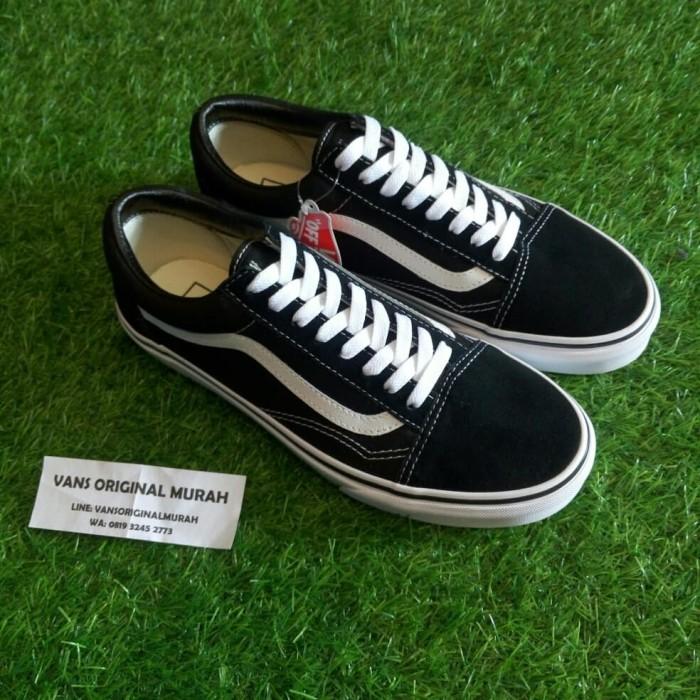 6c9a876e693 Jual Vans Old Skool Classic Black White - Kota Bandung - Vans ...