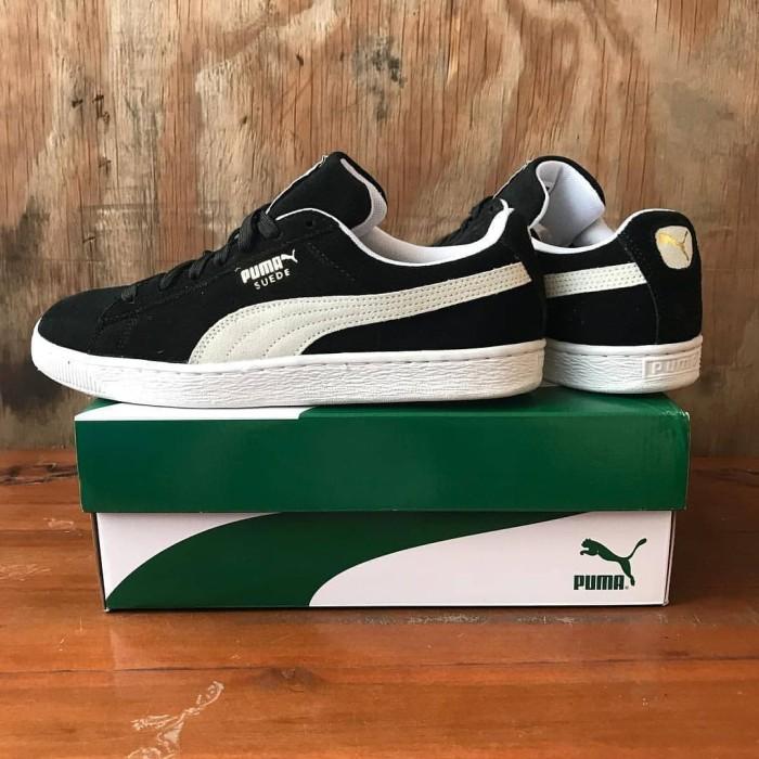 huge discount 6f55e b079e Jual Puma Suede Classic Plus Black / White 352634 03 - Hitam, 43 - DKI  Jakarta - Averroes Sneaker Store | Tokopedia