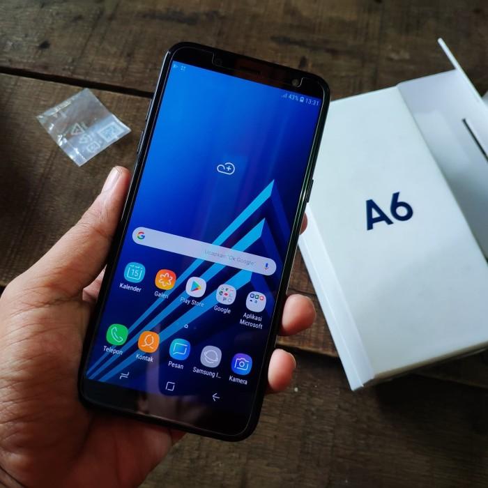 Jual Samsung A6 2018 Black Fullset Kota Balikpapan Ilham Pusat