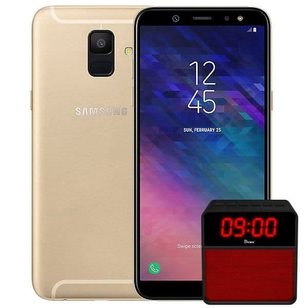 harga Samsung galaxy a6 - gold free bluetooth speaker Tokopedia.com