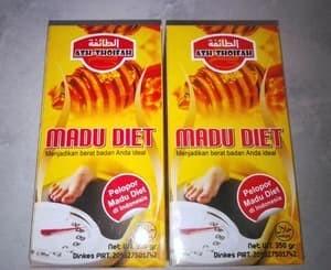 Madu Diet Obat Herbal Pelangsing Langsing Alami Asli / Original