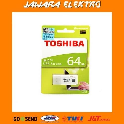 Flash Disk / Flashdisk USB Flash Memory Toshiba 64 GB (BK054) - Putih