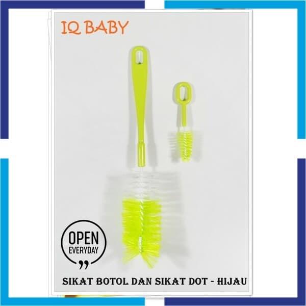 Jual Murah IQ Baby Sikat Botol Standart Warna - Sikat Dot