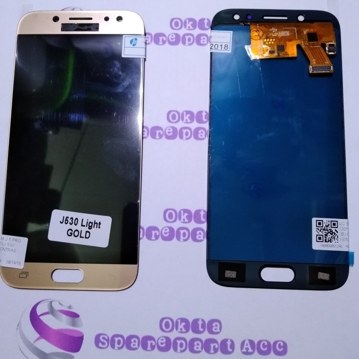 Jual Lcd Touchscreen Samsung Galaxy J5 Pro J530 Fullset Bisa Kontras Jakarta Barat Okta Sparepart Dan Acc Tokopedia