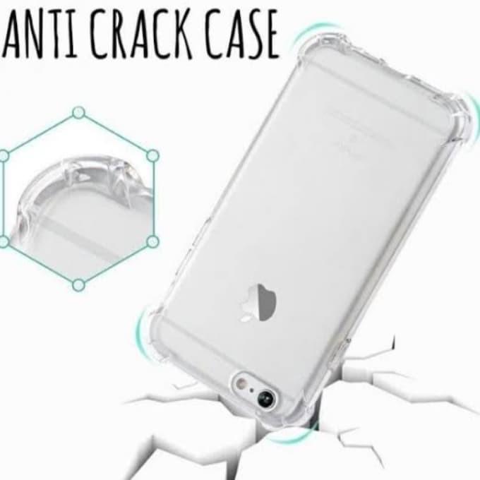 Anti Crack Case Motorola Moto C Plus - Mika Bening Transparant