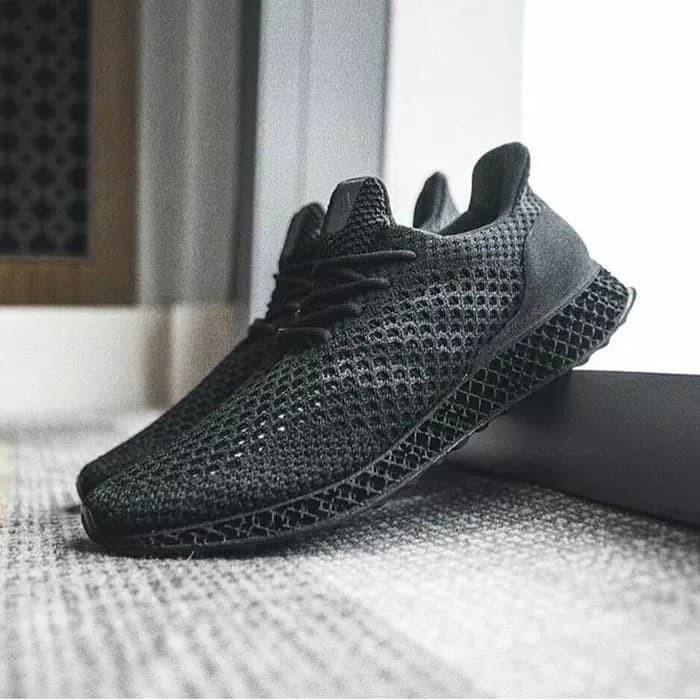 adidas futurecraft all black off 64