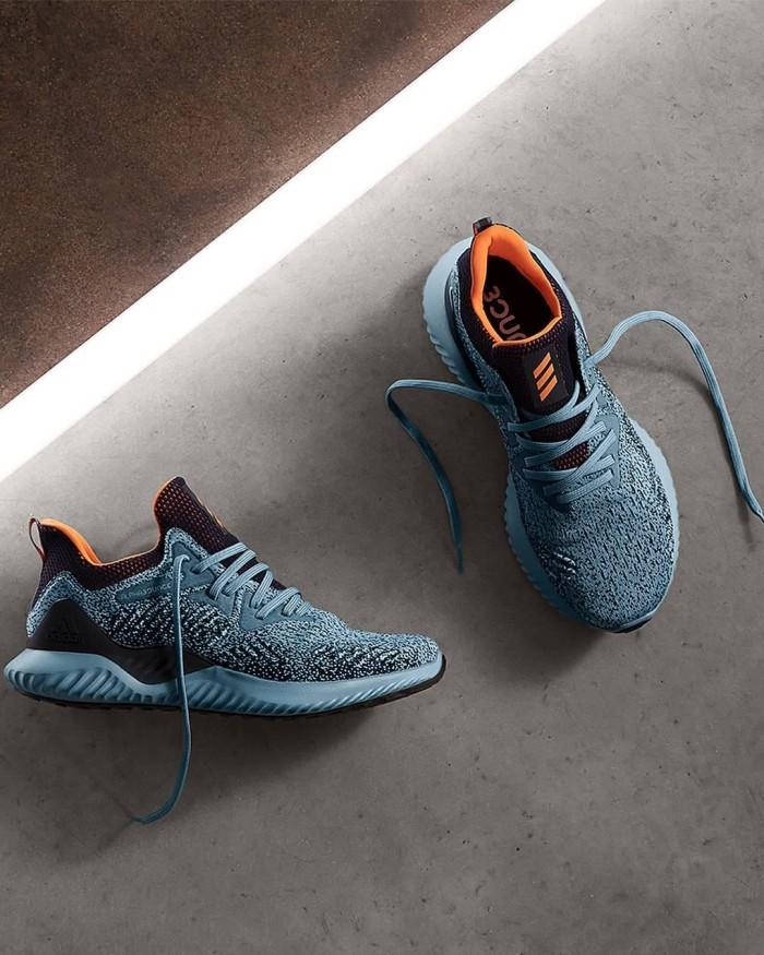 4ccd488677a69 Jual Sepatu Adidas Alphabounce Beyond Raw Grey Hi-Res Orange Legend ...