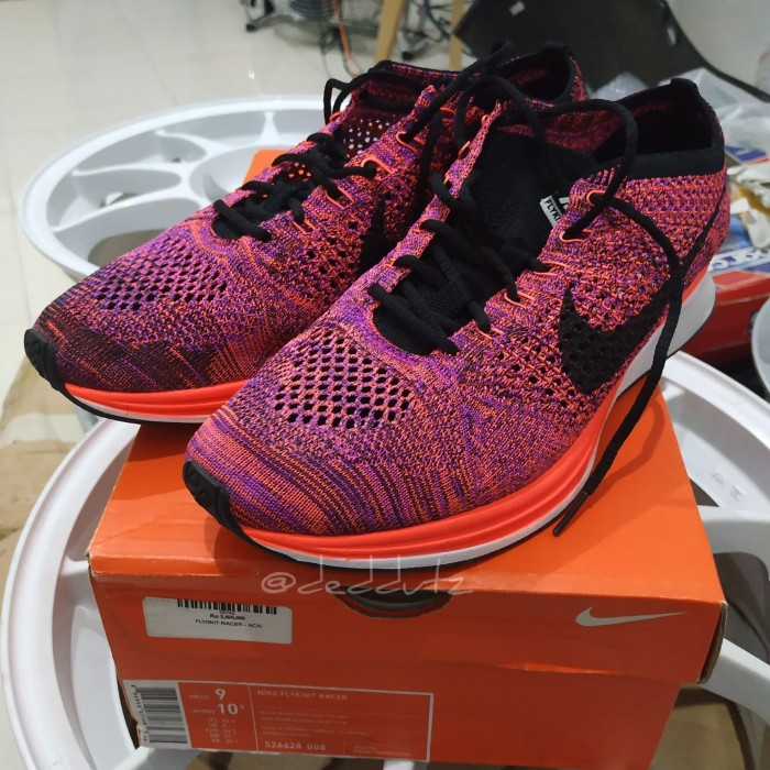 300a6ea829d4 Jual Nike Flyknit Racer Acai Berry - Eur 42.5 - Kota Tangerang ...