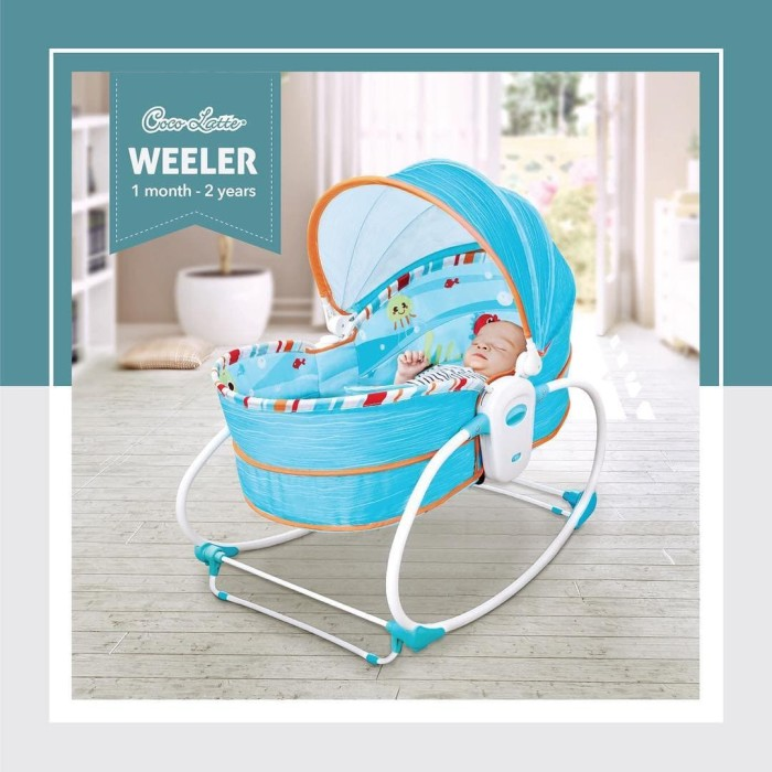 harga Cocolatte weeler bouncer 5in1 rocker bassinet n carry cot Tokopedia.com