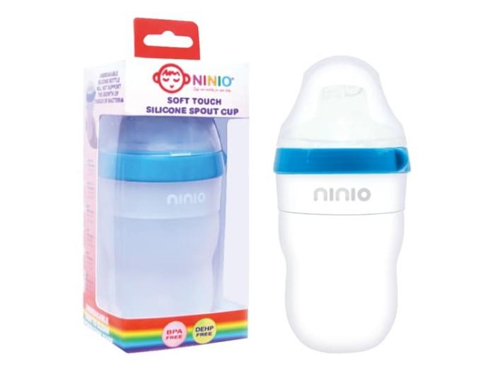harga Ninio botol susu silicone bayi 200ml - bsf102 Tokopedia.com
