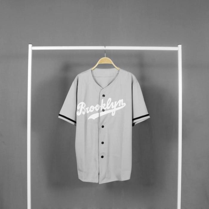harga Kaos baseball pria - baju baseball baseball - broklyn Tokopedia.com