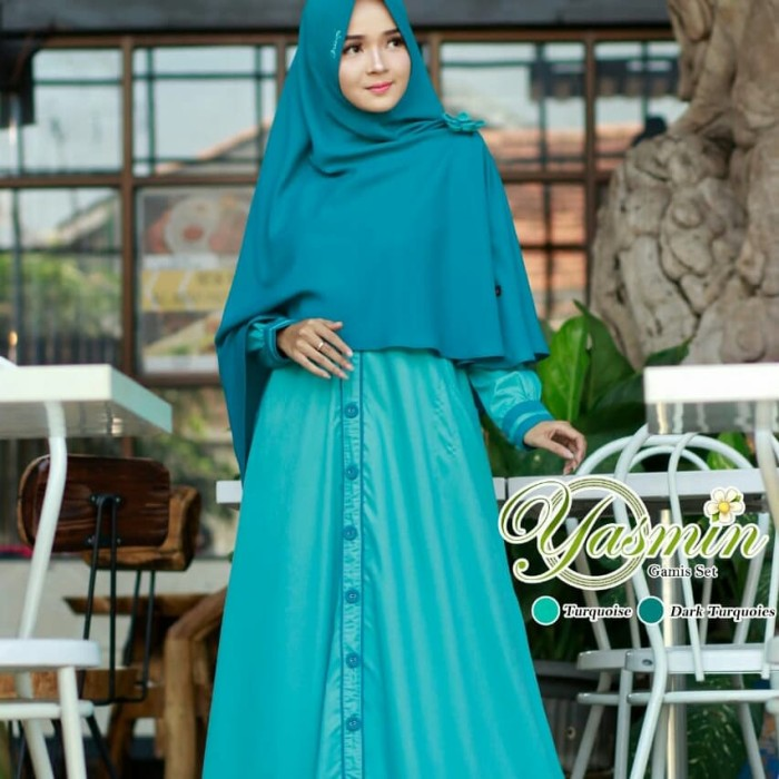 Jual Yasmin Dress Set Ori Nazumi Yasna Collection Tokopedia