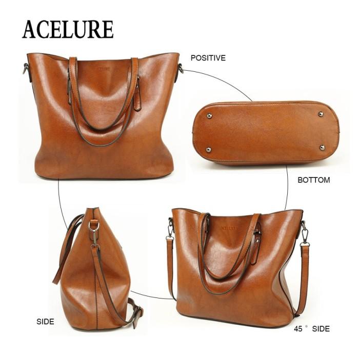 Limited ACELURE Women Shoulder Bag Fashion Women Handbags Oil Wax
