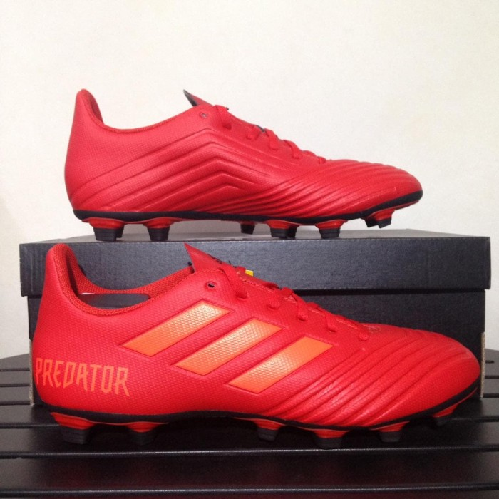 bff355ef4ba4 Jual Sepatu Bola Adidas Predator 19.4 FXG Active Red D97970 Original ...