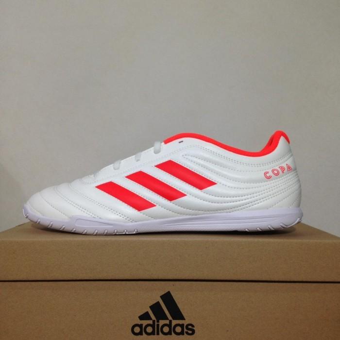 harga Sepatu futsal adidas copa 19.4 in off white red d98073 original bnib  Tokopedia.com 30b0ee73f7