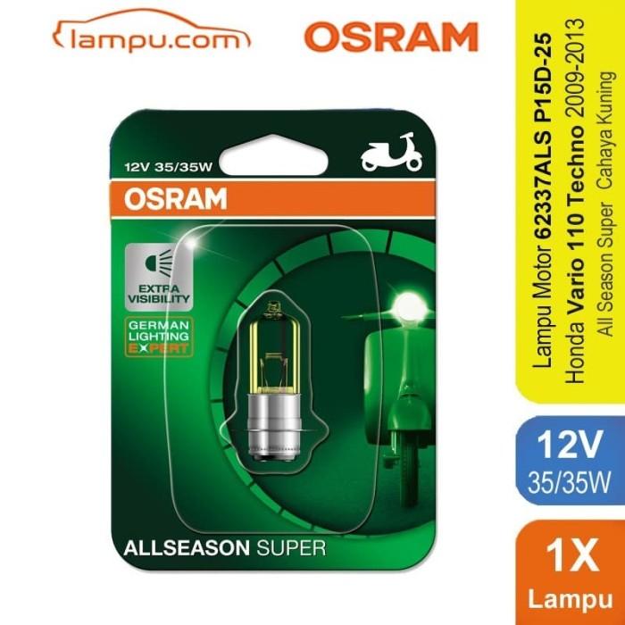 harga Osram lampu depan motor vario 110 techno 2009-13 - 62337als Tokopedia.com