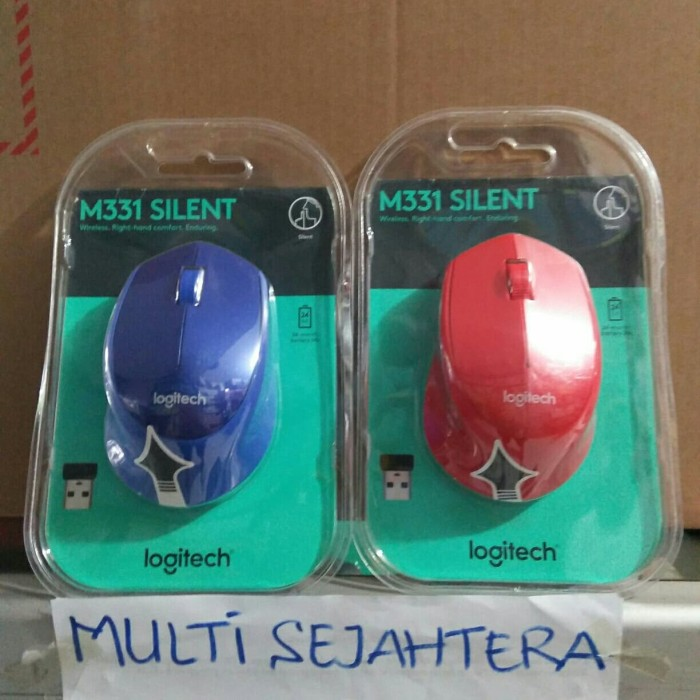 8768d6b7ec2 Jual mouse logitech wireless M331/bluetooth/silent/ori - Kab ...