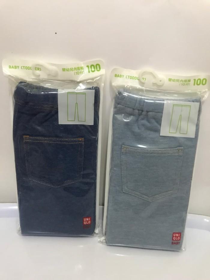 Jual Celana Uniqlo Legging Jeans Denim Anak Balita Jakarta Barat Marsjeans Tokopedia