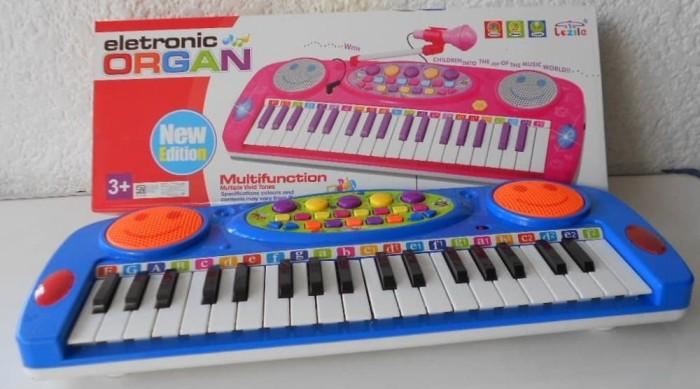harga Mainan piano organ electronic besar musik Tokopedia.com