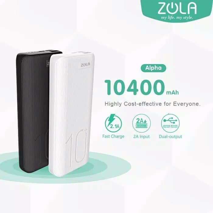 harga Zola alpha powerbank 10400mah garansi resmi Tokopedia.com