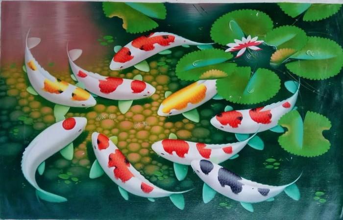 Lukisan Ikan Koi Mudah Cikimm Com