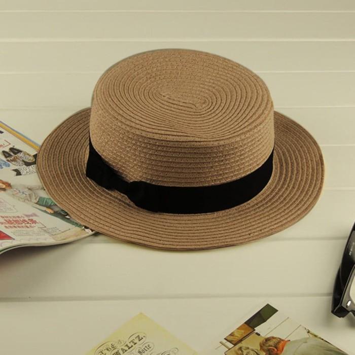 Jual GN Tools  Bayar Di Tempat Tp001 Topi Pantai Klasik untuk Pria ... 1cd9a3be35