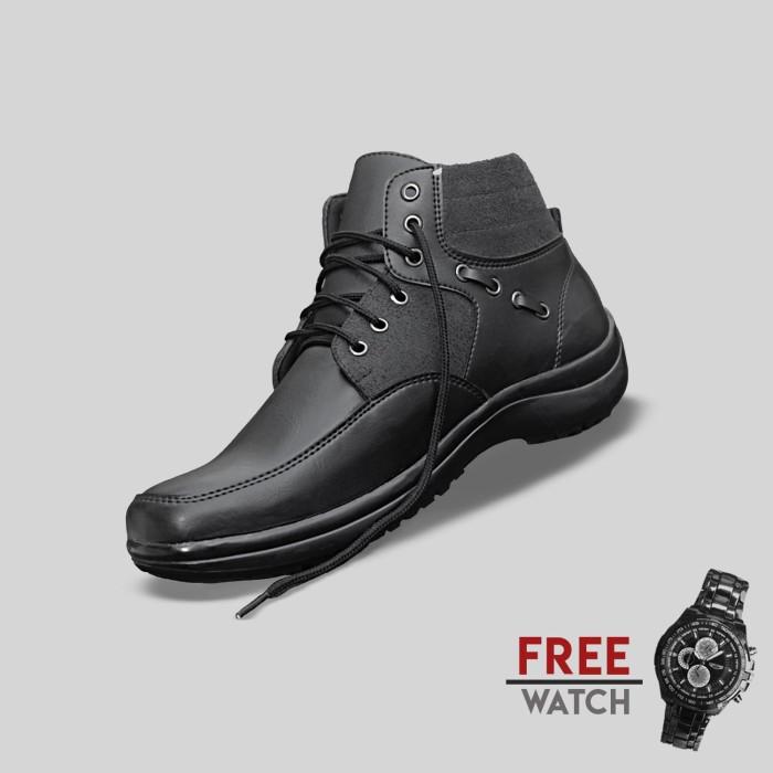 Foto Produk Sepatu Casual Pria S. Van Decka J-MZ10 Free Jam Tangan Sport dari S.Van Decka