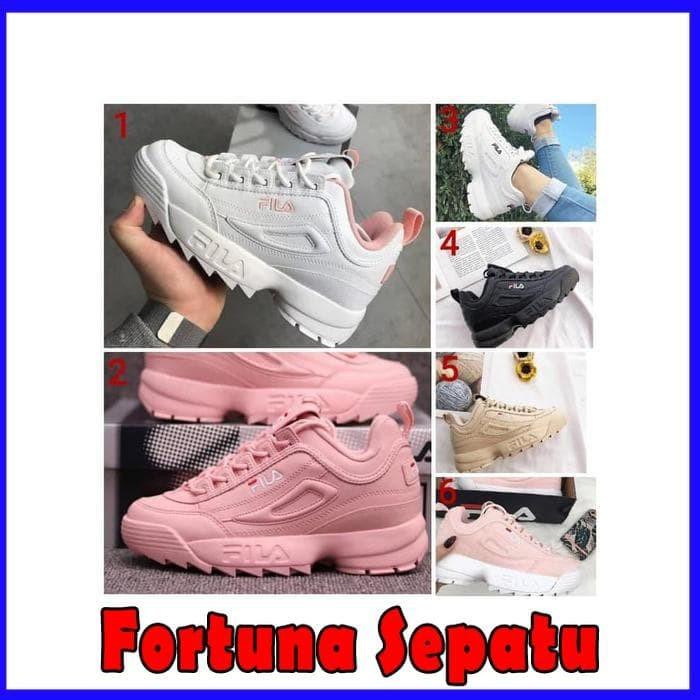 Jual Fila Disruptor II Premium Original   Sepatu Kasual   Jalan ... 29e36f8f6f