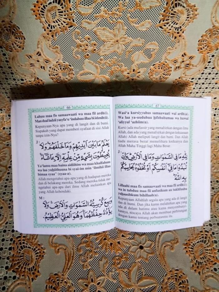 Jual Buku Surat Yasin Tahlil Arab Latin Terjemah Kertas Hvs Original Kab Kendal Arafah Shop Tokopedia