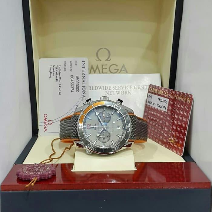 5e5ccddb8ab Jual PREMIUM Jam Tangan Omega Seamaster Chronogrpah Plus box ...