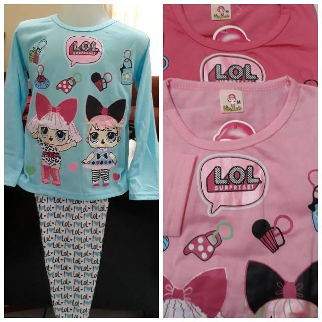 Jual Ready Baju Tidur LOL surprise - cherish bag store  b64cac1deb