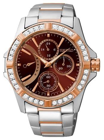 jam tangan wanita Seiko original SRLZ88P1 (quicksilver ac swiss army)