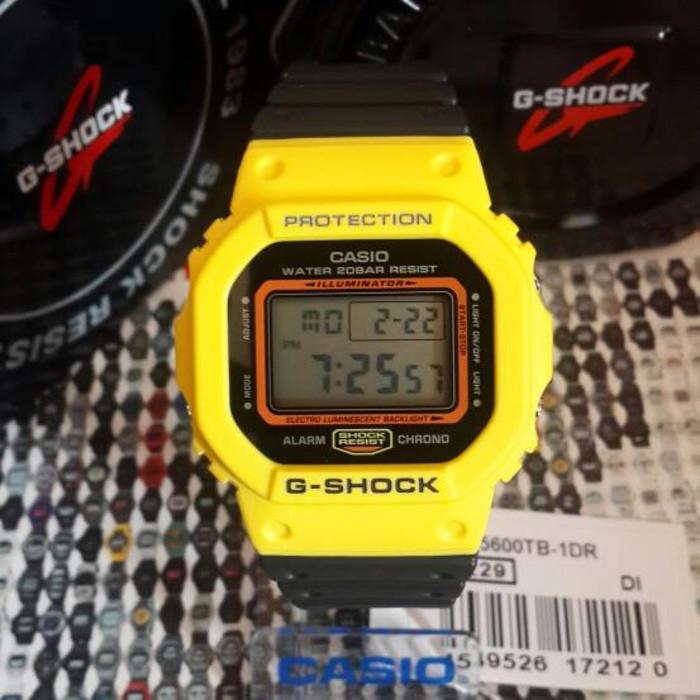 ORI Casio G-Shock DW-5600TB-1DR DW 5600TB 1DR - Jam Tangan Original