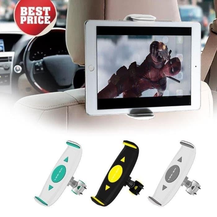 Log On UNIVERSAL Car HOLDER Tablet IPAD TAB MOUNT 7 15 Black Yellow