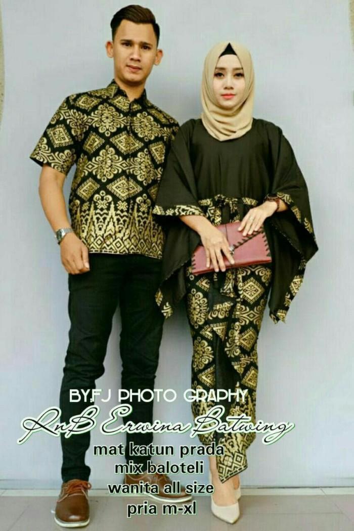 58 Contoh Baju Couple Batik Remaja Terbaru Kekinian