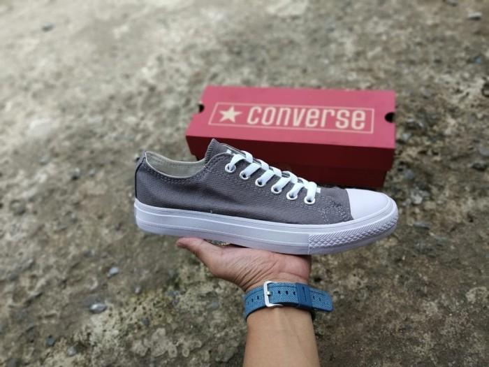 Sepatu Converse - Sepatu Kets - Sepatu Santai - Style   Sporty - CA4 -  Abu-abu 9e8bbe1cde