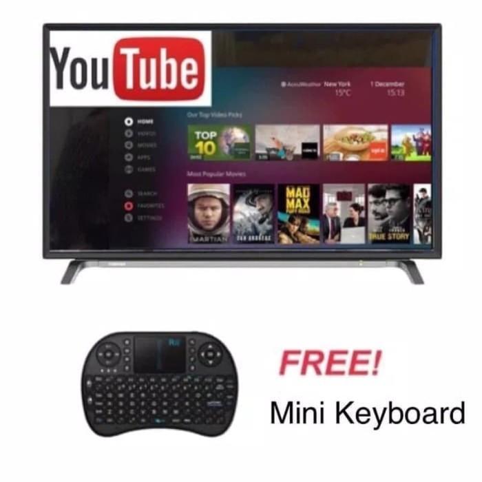 CUCI GUDANG Toshiba 43L5650 Smart TV LED 43 Inch Full HD Opera L56 S