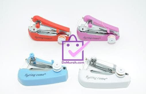 Beli Springcome Mesin Jahit Portable Mini / Mesin Jahit Tangan Spring