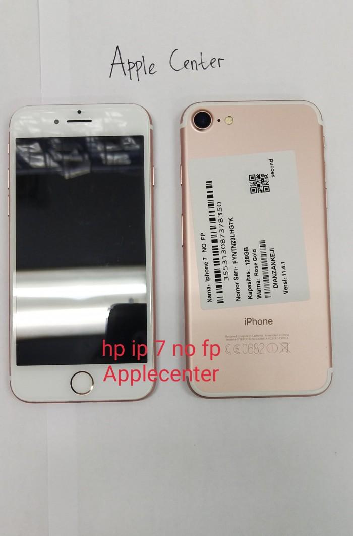 Jual HP IPHONE 7 128 GB NO FP-ORI BATANGAN (ROSEGOLD) - Applecenter ... b24fb84800