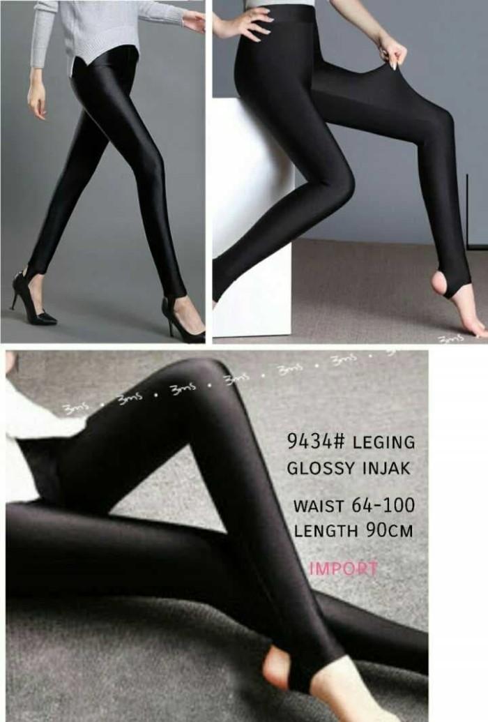Jual Celana Legging Glossy Injak Hitam Kota Tangerang Selatan Suncity Shop Tokopedia