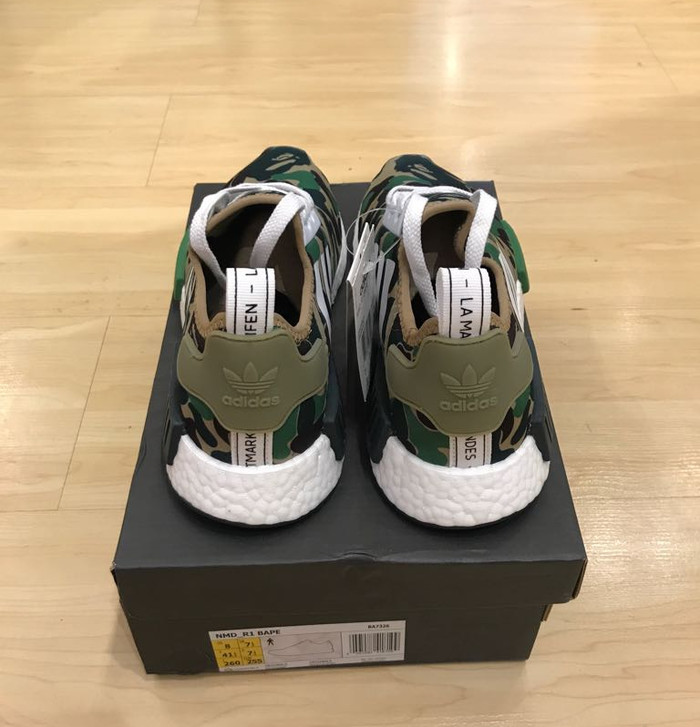 476e328ef2166 Jual NEW BAPE X Adidas NMD Camo Green UA Quality - Kota Surabaya ...