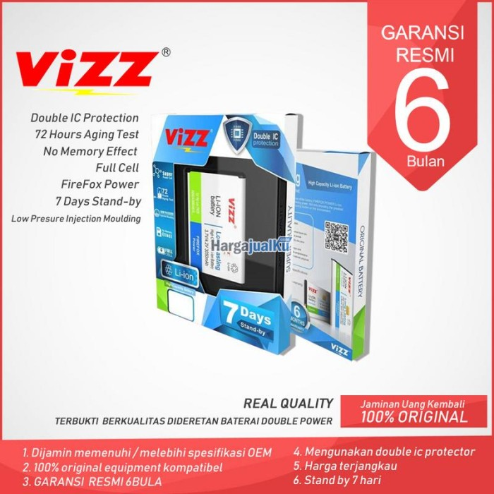 Jual Baterai Vizz Samsung Galaxy Ace 4 Double Power 3000Mah - DKI Jakarta -  itcroxy   Tokopedia