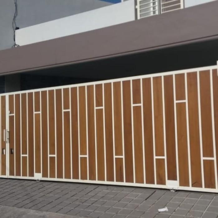 Jual Pagar Kayu Minimalis Clasik - Kota Tangerang Selatan - Jaya Las  Bintaro | Tokopedia