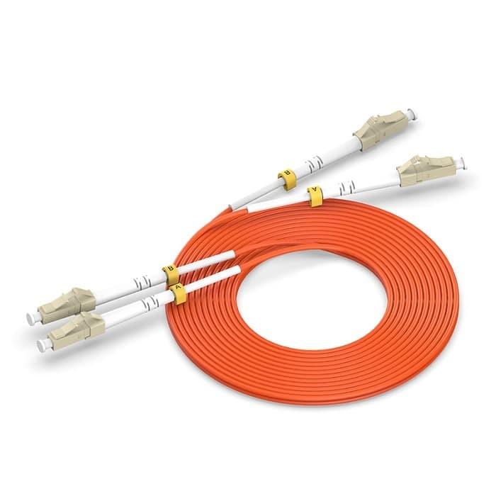 harga Vention igi 3m kabel fiber optic fo patch cord lc lc duplex multi mode Tokopedia.com